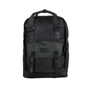 Doughnut Macaroon Large Camo Series Army Backpack