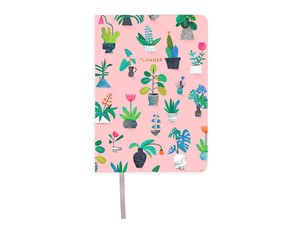 Ohh Deer Potted Plants A6 Planner