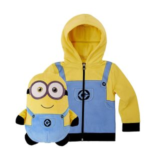 Cubcoats Bob The Minion Unisex 2-In-1 Hoodie
