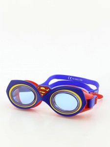Zoggs Junior Character Superman Goggle Blue/Red
