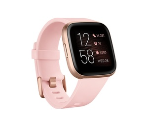 Fitbit Versa 2 NFC Petal/Copper Rose Aluminum Smart Watch
