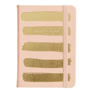 kikki.K A6 Bonded Leather Journal Thin Luxury Soft Coral