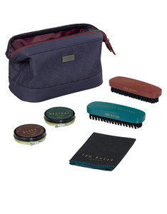 Ted Baker Shoeshine Kit Blue