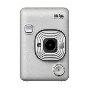Fujifilm instax mini LiPlay Camera Stone White