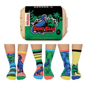 United Oddsocks Dino Eggs Kid'S Socks Uk12-6,Eur30.5-39Us 13.5-7