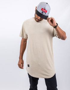 Cayler & Sons New Age Scallop Knitted Beige T-Shirt