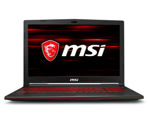 "MSI Gaming GL63 8RD 2.2GHz i7-8750H 15.6"" Black Notebook"