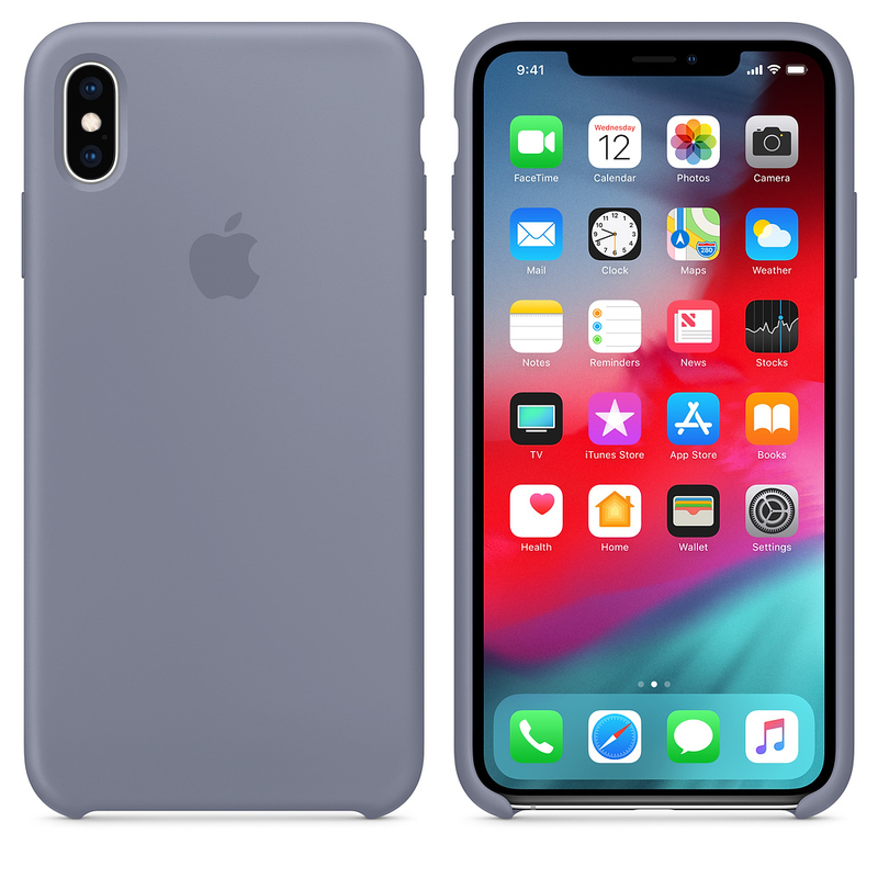 iphone xs silicone case grey