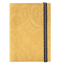 Libretto A5 Paseo Embossed Layflat Notebook Gold