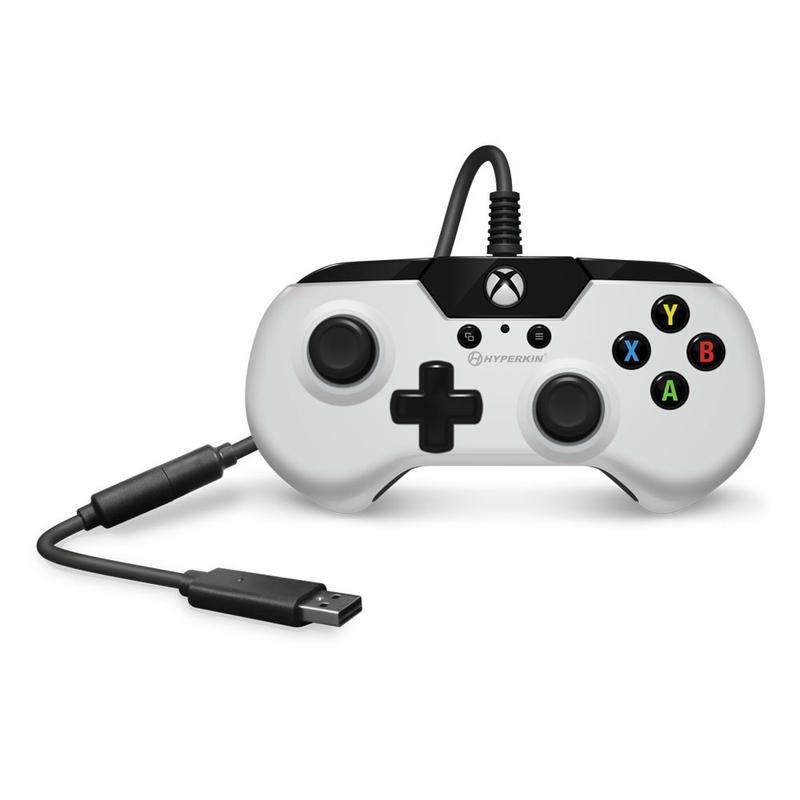 Hyperkin X91 White Retro Controller For Pc Xbox One