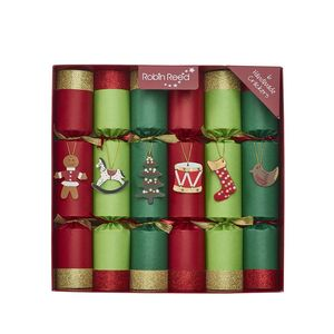 Robin Reed Fun Toy Chest Christmas Crackers [Set of 6]