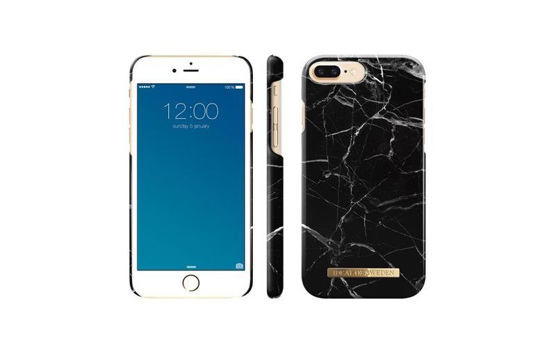 cheaper cdfc2 97fa3 iDeal Fashion Case Black Marble For iPhone 7 Plus