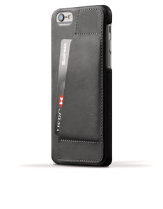 Mujjo Leather Wallet Case 80 Black iPhone 6
