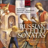 RUSSIAN CELLO SONATAS (GER)
