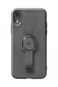 CellularLine Case Black with Fingerloop for iPhone XR