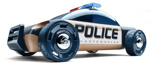 Automoblox S9 Police Cruiser Featuring Brembo