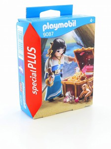 Playmobil Pirate with Treasure