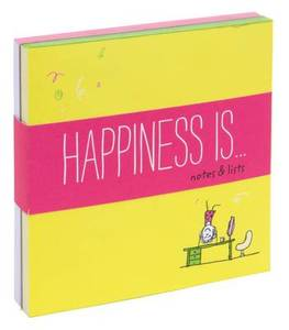 Happiness is... Notes and Lists: Notepad Set