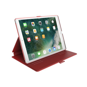 Speck Balance Folio Dark Poppy Red/Velvet Red with Magnet for iPad 9.7 Inch