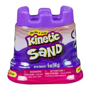Kinetic Sand Castle Single Container 4.5oz Pink [Assortment - Includes 1]