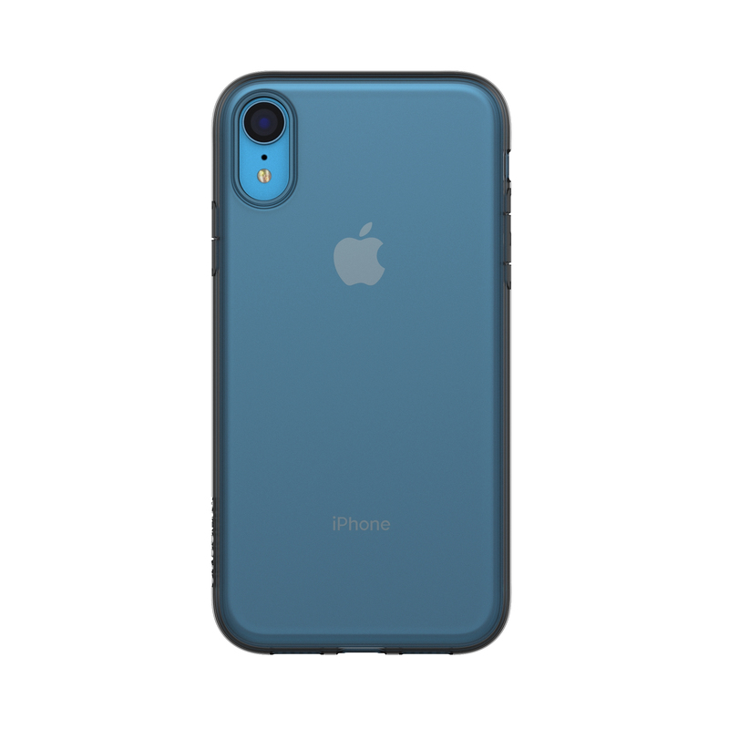 sports shoes 288b6 0cc8c Incase Protective Clear Cover Black for iPhone XR