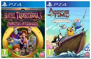 Hotel Transylvania 3: Monsters Overboard + Adventure Time: Pirates Of The Enchiridion