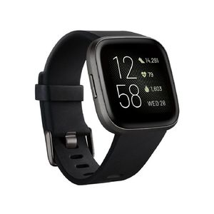 Fitbit Versa 2 NFC Black/Carbon Aluminum Smart Watch