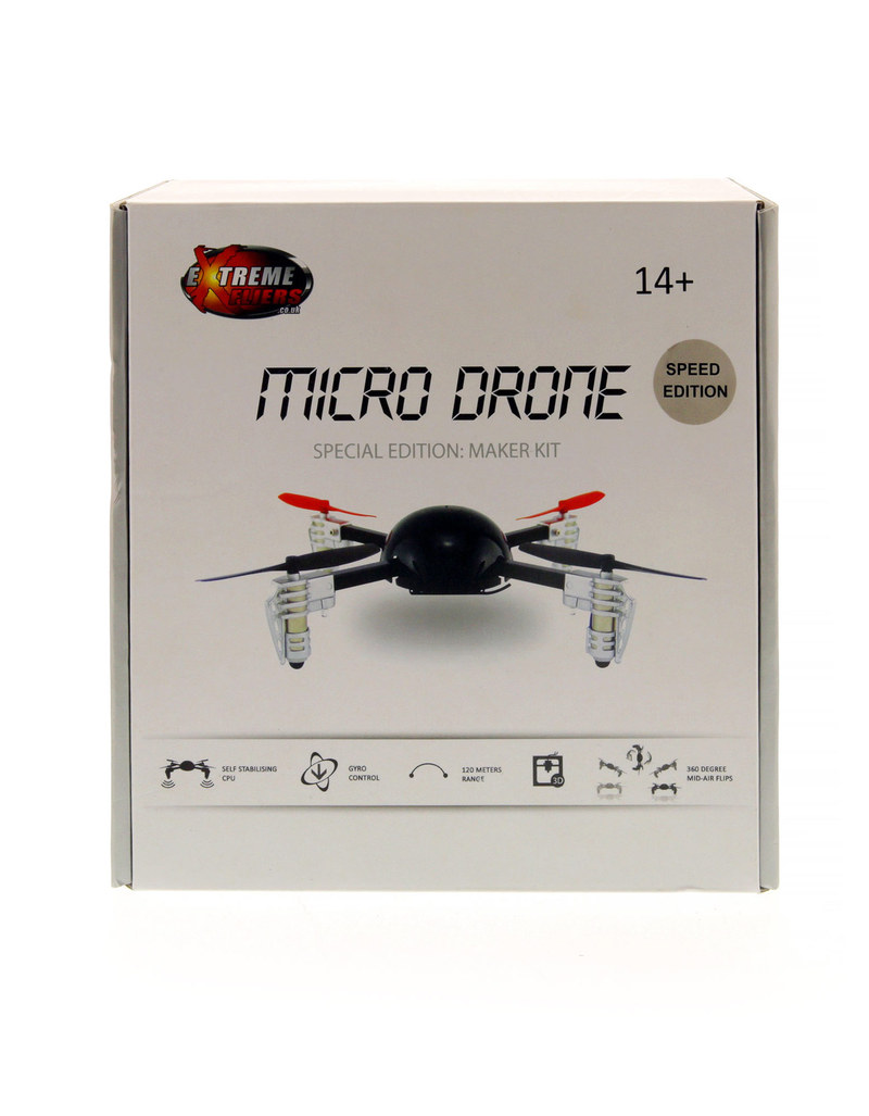 Extreme Fliers Rc Micro Drone Quadcopter