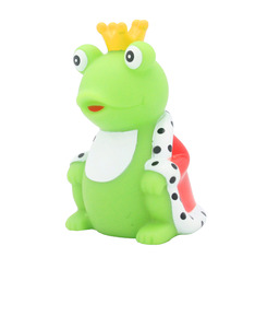Lilalu Frog King with Cape Rubber Duck