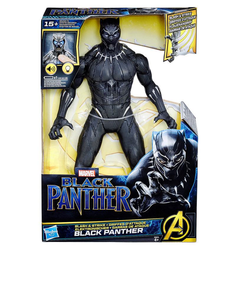 hasbro black panther slash and strike figure 13 inch