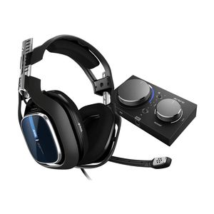 Astro A40 TR Black Gaming Headset + MixAmp Pro TR for PS4 [Gen 4]