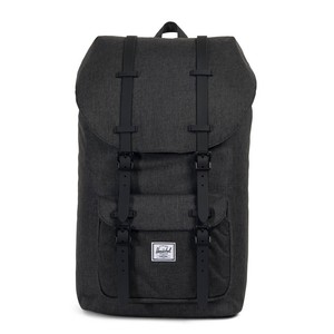Herschel Little America Black Crosshatch/Black Rubber  Backpack