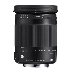 Sigma 18-300mm f/3.5-6.3 DC MACRO OS HSM Lens for Canon EF