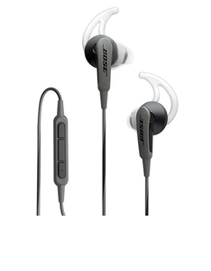Bose SoundSport Charcoal Black In-Ear Earphones Android Devices