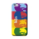 Beatles Color Faces Soft Case Iphone 6