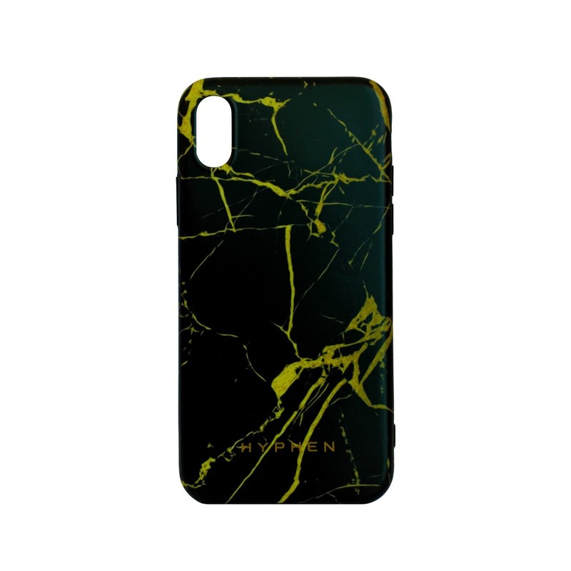 the best attitude b8f33 118f8 Hyphen Marble Case Black/Gold for iPhone X