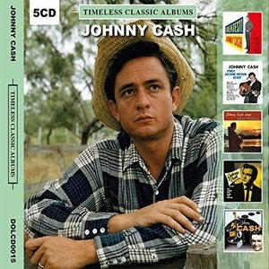Johnny Cash Timeless Classic Albums [5 Disc Set]