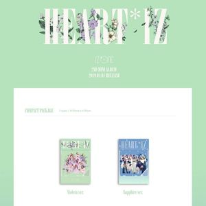 Heartxiz 2nd Mini Album [Kihno Album]