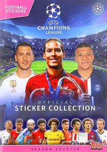 Topps Champion League Match Attax 19-20 Sticker Album