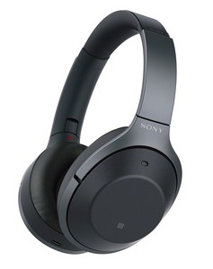 Sony WH-1000XM2 Black Bluetooth Noise Cancelling On-Ear Headphones