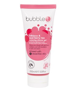 Bubble T  Restoring Shower Gel Hibiscus & Acai Berry Tea