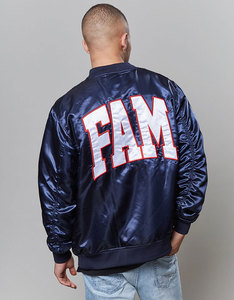 Cayler & Sons BL Fam Satin Bomber Navy Men Jacket