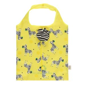Somthiung Different Ziggy Zebra Foldable Shopping Bag