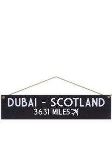 I Want It Now Scotland Wooden Location Sign