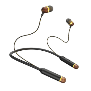 The House of Marley Smile Jamaica Brass Bluetooth In-Ear Earphones