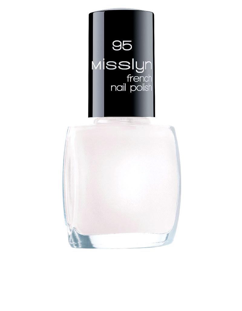 Misslyn French Nail Polish 10ml No.95 Milky Way | Nails | Beauty ...