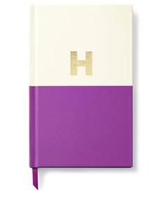 Kate Spade Dipped Initial Collection H Journal