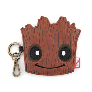 LOUNGEFLY MARVEL GUARDIANS OF THE GALAXY GROOT FACE COIN BAG