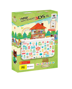 Nintendo 3DS XL Animal Crossing Happy Home Edition