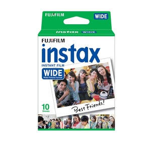 Fujifilm Instax Wide Film Single Pack [10 Sheets]